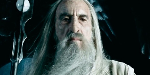 Saruman, Lord of the rings, Christopher Lee