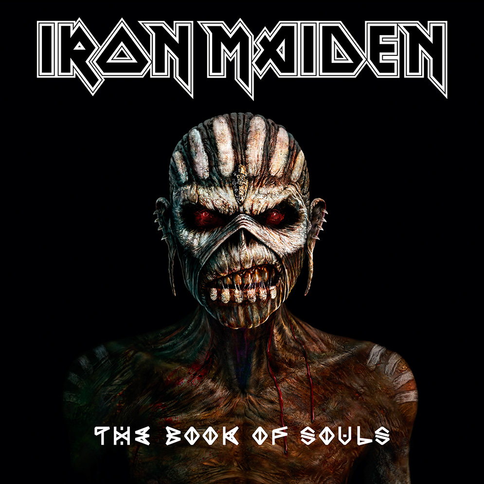 'The Book Of Souls' cover artwork