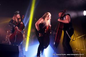 Apocalyptica, Tvornica Kulture Zagreb 15.10.2015.