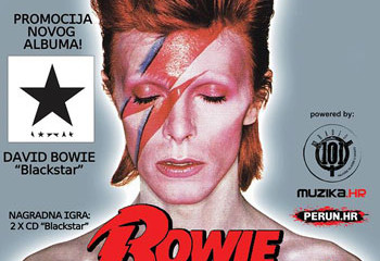 DARK SIDE - BOWIE night u Jabuci 15.1.2016.