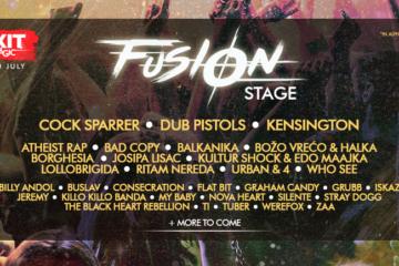 Exit Festival - Fusion pozornica - Potvrđeni Josipa Lisac, Urban & 4, Silente i mnogi drugi