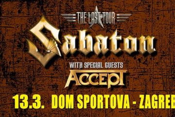 "Sabaton + Accept ""The Last Tour"" / 13.03.2017 - Dom Sportova, Zagreb"