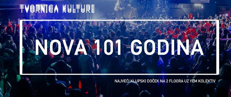 Nova 101 godina u Tvornici kulture