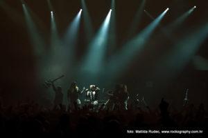 Sabaton, Dom Sportova Zagreb, koncertna fotografija, Matilda Rudec