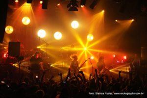 Children Of Bodom u Tvornici kulture, koncertna fotografija, Slavica Rudec