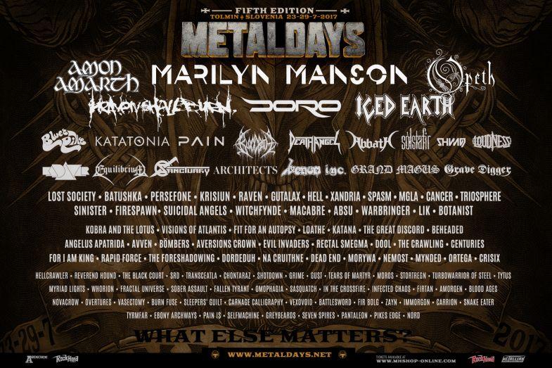 Metaldays 2017 - objavljeni posljednji bendovi