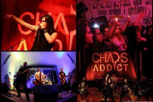 chaos addict, koncertna fotografija
