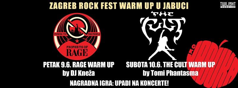 Zagreb Rock Fest Warm Up Weekend