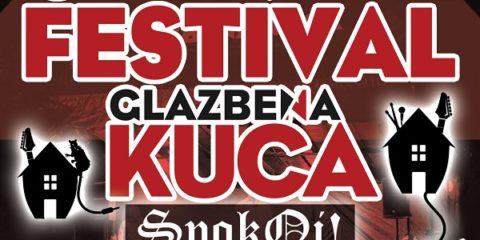 Glazbena kuća open air festival u subotu 16.9. na Bundeku