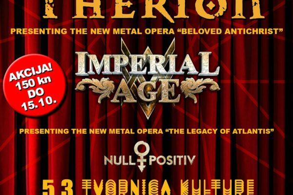 Therion predstavlja metal operu 05. ožujka 2018. u zagrebačkoj Tvornici kulture