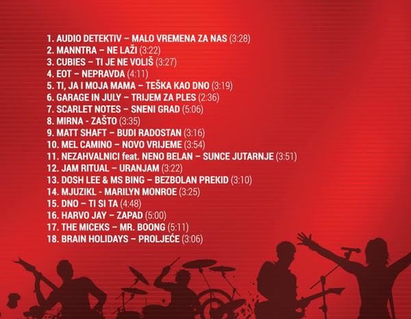 "album festivala ""Karlovačko RockOff 2017."