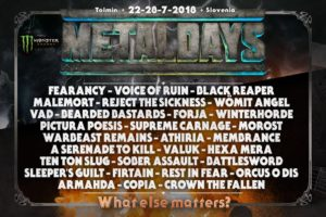 Metaldays 2018 New Forces