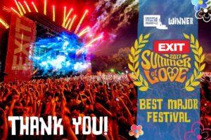 EXIT je službeno najbolji europski festival
