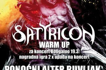 Metal night Satyricon warm up Alter buvlja