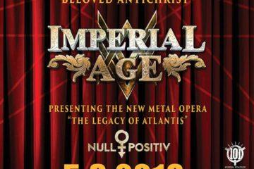 Therion, Imperial Age i Null Positiv u Tvornici kulture 5.3.