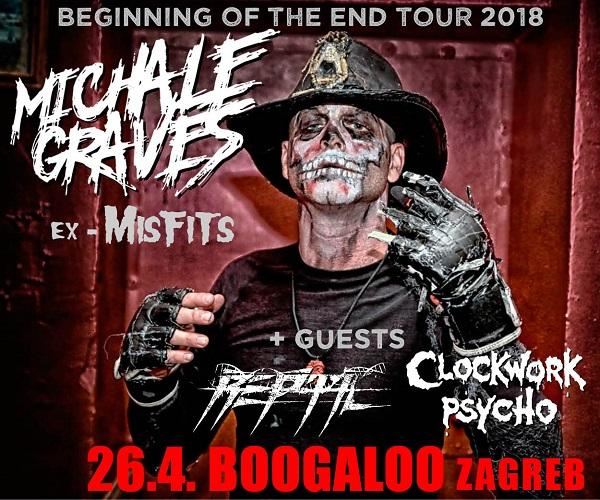 Michale Graves ex Misfits singer