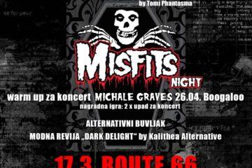 Twilight Misfits night