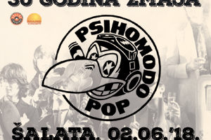 Psihomodo Pop, koncert Šalata, Zagreb