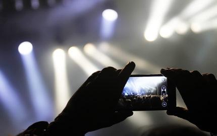 Koncertna fotografija, Kako napraviti koncertne fotografije pametnim telefonom