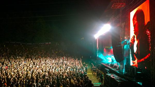 Dark Funeral 2016. Nokia 1020, foto: Slavica Rudec, koncertna fotografija