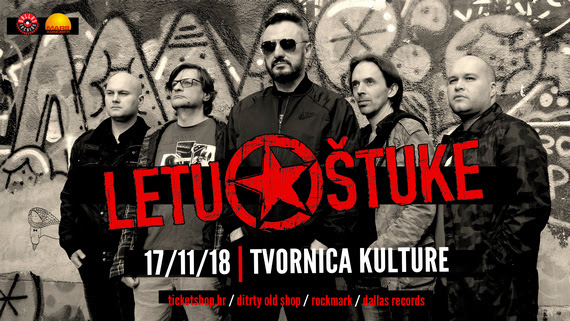 Letu Štuke u Tvornici kulture 17. studenog 2018.