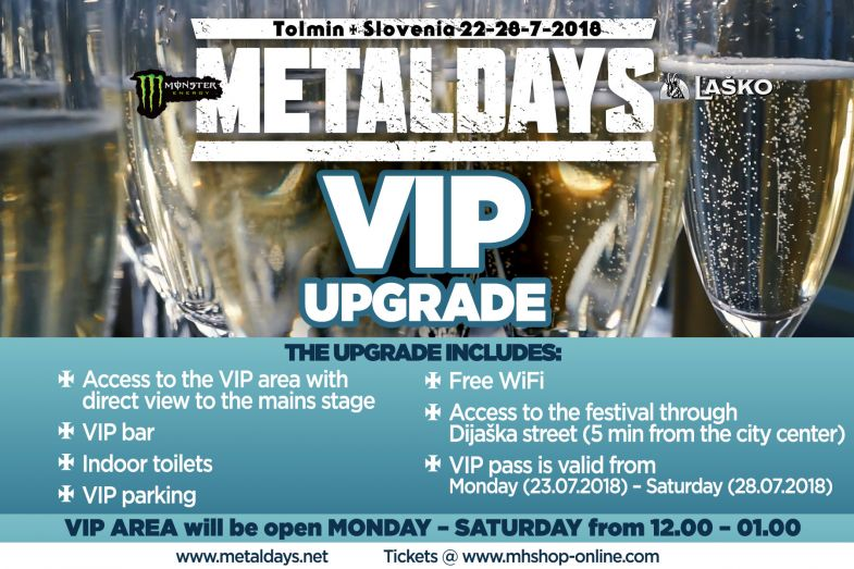 MetalDays VIP ulaznice