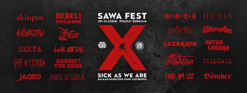 Sawa festival Županja