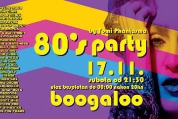 80s party by Tomi Phantasma