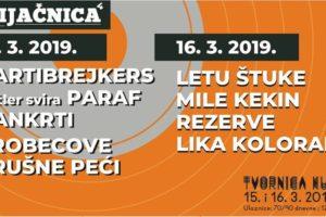 Brijačnica 4 - 15. i 16. ožujka u Tvornici kulture!