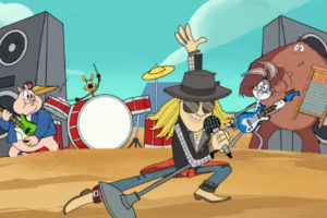 Axl Rose- New Looney Tunes -Rock The Rock