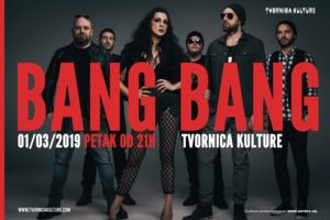 BANG BANG u Tvornici kulture!