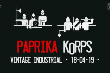 Paprika Korps 18. travnja u Vintage Industrialu