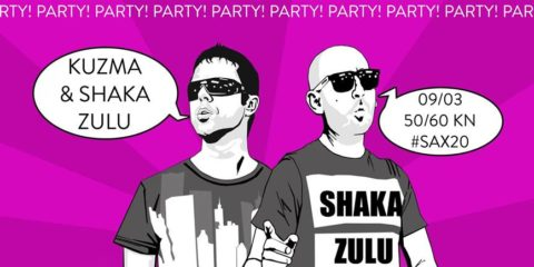 Kuzma & Shaka Zulu u Zagrebu