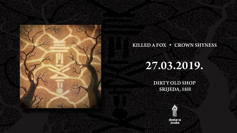Killed A Fox - novi album Crown Shyness