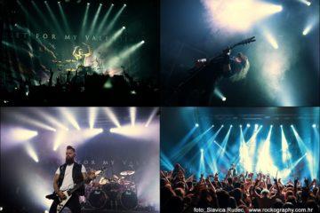 Bullet For My Valentine + Overpower, koncertna fotografija, slavica rudec photography,