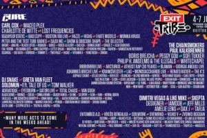 EXIT festival program