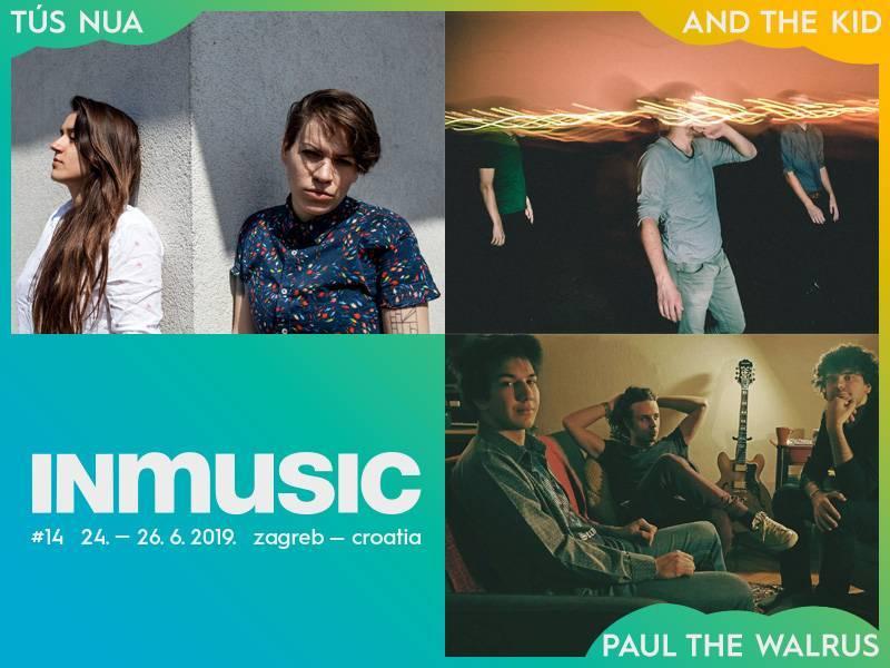 Tus Nua, And The Kid i Paul The Walrus nova pojačanja INmusic festivala #14!