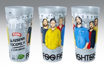 Koncerti Foo Fightersa u Puli bez jednokratne plastike