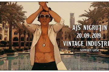 Ajs Nigrutin 20. rujna u Vintage Industrialu