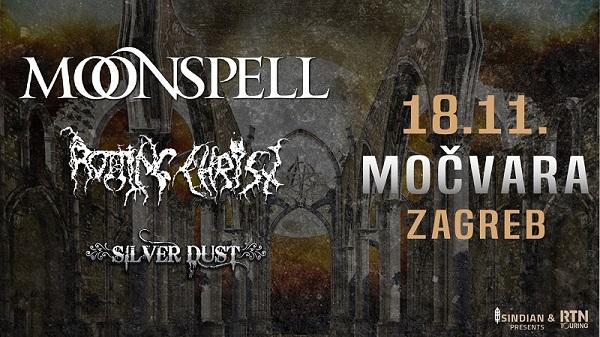 Moonspell Rotting Christ Siver Dust 18 11 2019 Mocvara
