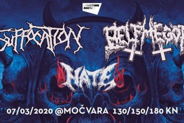 Suffocation, Belphegor i Hate u Zagrebu