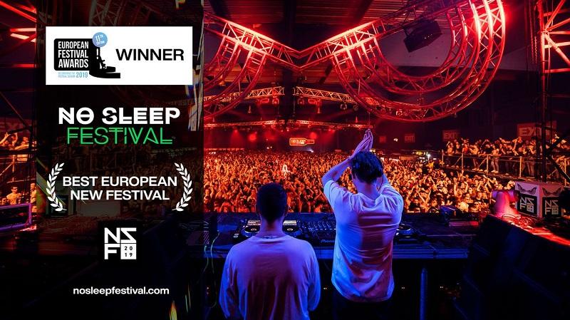 """EXIT timu novi """"festivalski oscar"""": No Sleep je najbolji novi festival"""