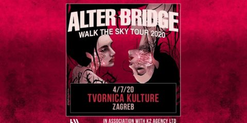 Alter Bridge u Tvornici kulture