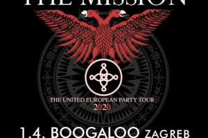 Goth rock legende The Mission 01 04 2020 Boogaloo Zagreb