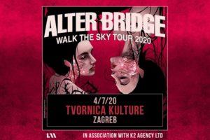Alter Bridge u Tvornici kulture